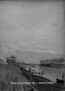 b  w river  rowing museum henley early unsold