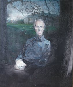 Sir Geoffrey Trevelyan 5th bart. Wallington, 1920-2011, (oil on muslin, 120 x 100cm, painted 2010)